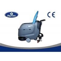 China Big Area Floor Washer Scrubber Dryer Machines , Easy Operation Industrial Floor Cleaners wholesale