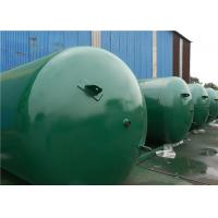 China ASME Approved Horizontal Air Receiver Tanks For Air Compressors Systems on sale