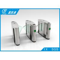 China High Speed Electronic Turnstile Gates Fingerprint Access Control System For Hotel wholesale