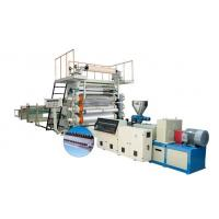 China Automatic PVC Paint Free PVC Sheet Extrusion Line 1220 mm Width wholesale
