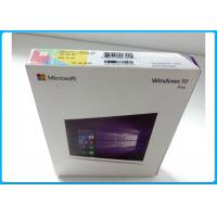 China Multi - Language Product OEM Key Microsoft Windows 10 Pro Pack With DVD OEM wholesale