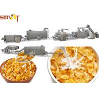 China Cereal Corn And Wheat Flakes Millet Flakes Making Machine Long Life Warranty on sale