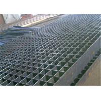 Quality Galvanized Pressure Lock Grating Q235 Material ISO 9000 Certification for sale