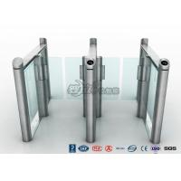 China Stylish Optical Speed Gate Turnstile Bi - Directional Pedestrian Queuing Systems Entry Barriers wholesale