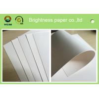 China Full Gsm Decorative Boxes Paper , Folding Box Board With Two Sides White wholesale