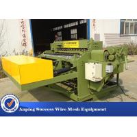 China Automatic Welded Wire Mesh Machine Adopts Electrical Synchronous Control Technique wholesale