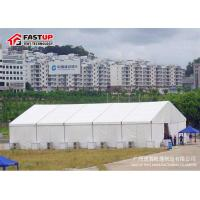 China High Capacity Modern Wedding Marquee Tent With Transparent Window Rain Proof wholesale