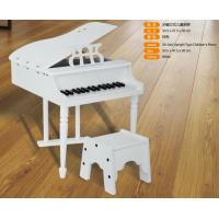 China Luxurious 30 Key Mini Grand Toy Wooden Piano With Stool Straight Leg FW30A wholesale
