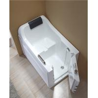 China 4mm Thickness Acrylic Safe Step Walk In Tub With High Backrest One Side Open wholesale