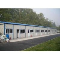 China Ready Made House Prefabricated Steel Structures Sandwich Panel Workers Dormitory wholesale