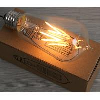 China 4W Edison ST64 glass global LED Filament Bulb Candle Light E27 Sapphire filament wholesale