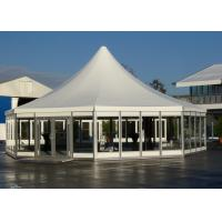 China Octagonal Glass Marquee Tent ML-075 , Aluminium Pagoda Tent SGS Approved wholesale