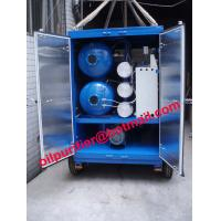 Buy cheap Trailer mounted vacuum transformer oil centrifuging machine, mobile insulation from wholesalers