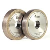 China Refractory Diamond Metal Bond Grinding Wheels With Round Edge For Glass wholesale