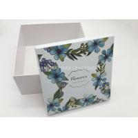 China Promotional Embossed Branded Gift Boxes Jewellery Cosmetic Package UV Printing Unusual wholesale