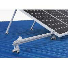 China Living House Solar Panel Frame Mounting Kit , Triangular Bracket Solar Power Roof Systems wholesale