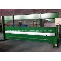 China TY 4m Hydraulic Color Coated Steel Sheet Bending Cutting Machine PLC  Panasonic wholesale