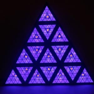 China Triangle Stage Light RGB Effect Light Matrix Light Event Background Effect Light Dj Led Lights wholesale
