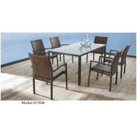 Quality Strip style wicker dining set -8150 for sale