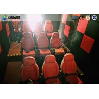 China Shuqee 5D Theater System Low Energy Fresh Experience For Entertainment Places wholesale