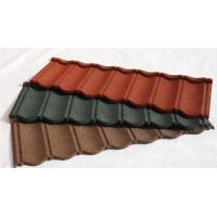 China Stone Coated Steel Roof Tile Type and Al-Zn Alloy Coated metal Sheet Material Roof Tile wholesale