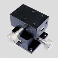 China DY21-46CT XY axis Dovetail Guide Linear Stages  ,Positioning Stage, Translation Stage,40x60mm wholesale