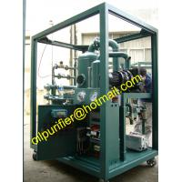 China ISO9001:2015 Certified Excellent Quality Transformer Oil Filtration Machine,Advanced Germany Pump Oil Purifier on sale