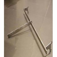 China Customized Metal Hanging Bar Shop Display Hooks  300 - 350MM For Clothing Shop wholesale