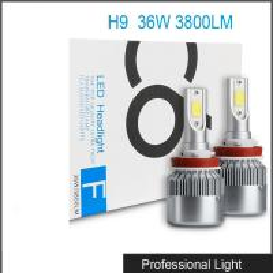 China Car Accessories LED H9 Headlight Bulb Lamp 6000K 36W 3800LM LED Headlight White C6 wholesale