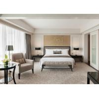 Buy cheap Commercial Dubai Style Hotel Bedroom Furniture Sets With One Year Warranty from wholesalers