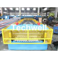 China Steel Silo Wall Sheet Corrugated Roll Forming Machine for Silo Side Panel wholesale