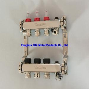 China Radiator Heating UFH Manifolds, Floor Radiator Heating Manifold on sale