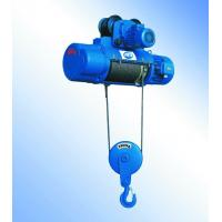 China Steel Electric Wire Rope Hoist Trolley Winch For Lifting Pendant Control High Efficiency on sale