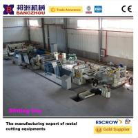 China 3X1600 Auto high speed metal sheet slitting line for CR,HR wholesale