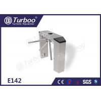 China Three Arm Turnstile / Security Entrance Gates With RFID IC Cards Reader wholesale