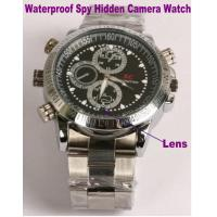 China Waterproof Wrist Watch Video Camera Recorder Spy Hidden Camera Private Detective Gadget wholesale