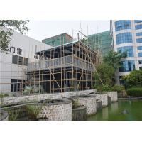 China Metal Mesh Concrete Foam Prefab Steel House / Steel Frame Prefabricated Houses wholesale