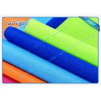 China Green / Blue Package Material Polypropylene Non Woven Fabric Spunbond 80gsm Various Colors wholesale