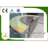 China 8 Seats Stainless Steel Electromagnetic Heating Semi-Circle Shape  Teppanyaki Table wholesale
