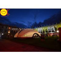 Buy cheap Outdoor Event Inflatable Tent Party Tent Marquee With 210D Pvc Coated Nylon Material product