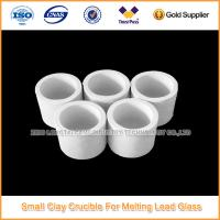 China Clay Crucible For Melting Lead Glass wholesale