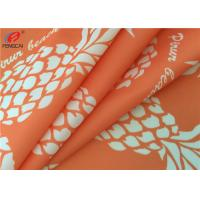 China Printed 4 Way Stretch 87 Polyester 13 Spandex Fabric For Bikini , Waterproof wholesale