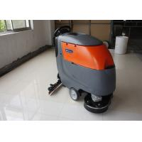 China Low Noise Twice Cleaning Width Battery Powered Floor Scrubber Not  For Soft Carpet wholesale