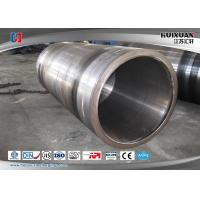 China ASTM Large Diameter Steel Tube Forging Customized For Cast Gear Ring wholesale