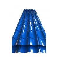 China 0.3mm Trapezoidal Tile Galvanised Corrugated Roofing Sheets Small / Big Spangle wholesale