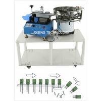China Radial Capacitor Lead Cutting Machine AC 220V/110V With Automatic Feeding Drum wholesale