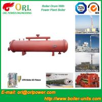 China Single Gas Boiler Mud Drum Natural Circulation For Textile Industry wholesale