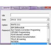xentry spencial function key service installation