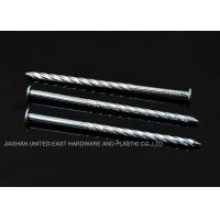 """China High Grip Galvanized Twisted Nails  2-1/2"""" X BWG 10 Low Carbon Steel Rust Proof wholesale"""