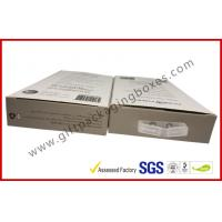 China 300gsm Paper Box Card Board Packaging With Clear Window And Blister wholesale